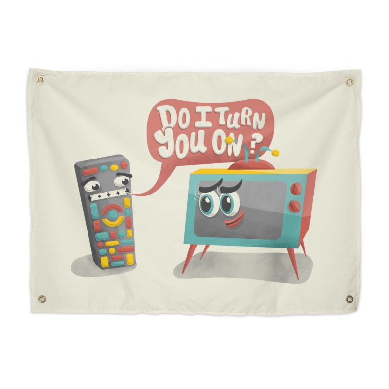 Do I Turn You On? Home Tapestry by JILL MARS