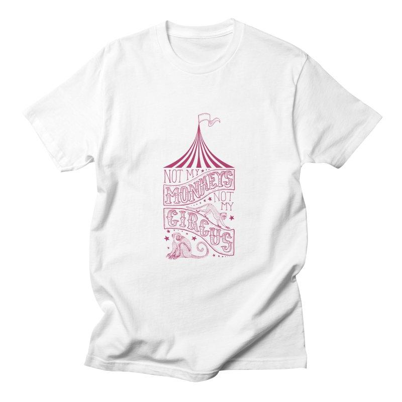 Not My Monkeys Men's T-Shirt by jillustration's Artist Shop