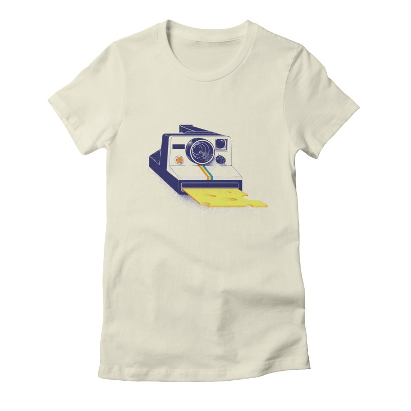 Say Cheese Women's Fitted T-Shirt by jillustration's Artist Shop