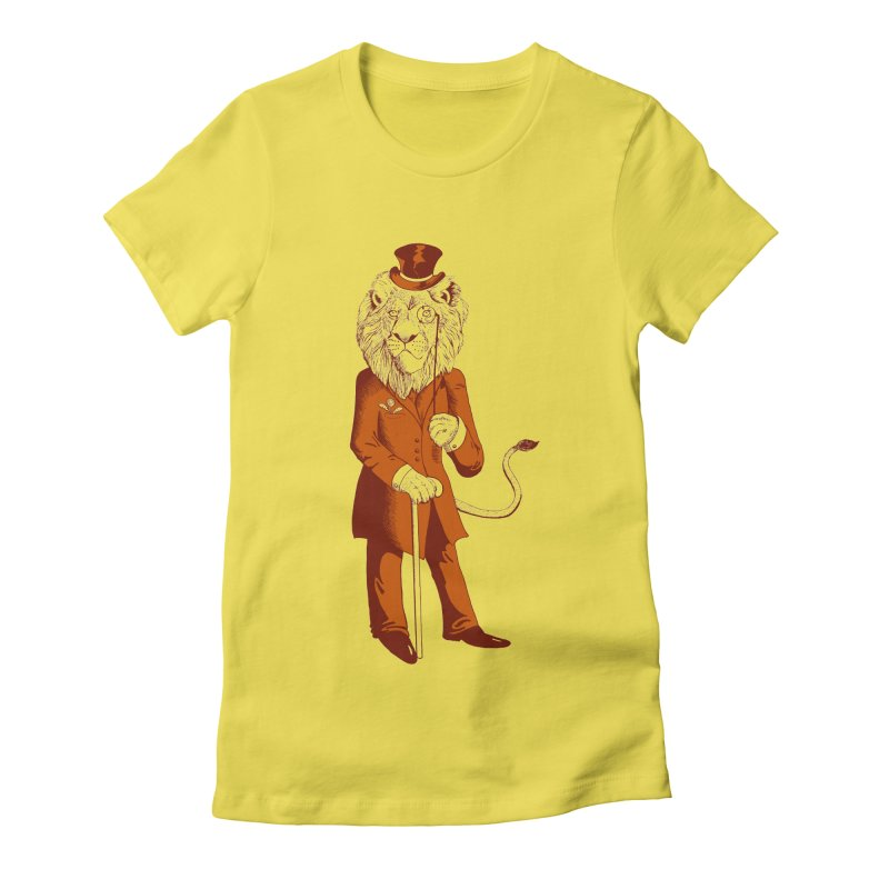 Dandylion Women's Fitted T-Shirt by jillustration's Artist Shop