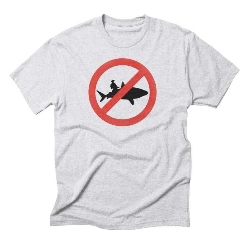 Not During Shark Week Men's Triblend T-shirt by jimdahousecat