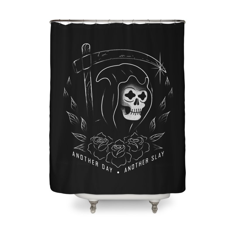 Another Day Another Slay Home Shower Curtain by Jimmy Breen Artist Shop