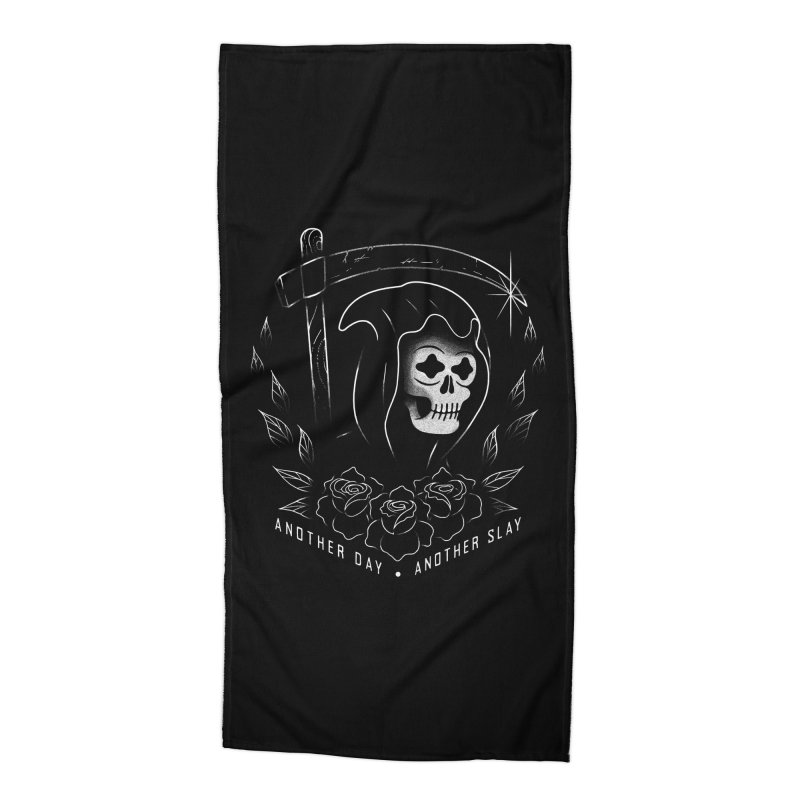 Another Day Another Slay Accessories Beach Towel by Jimmy Breen Artist Shop
