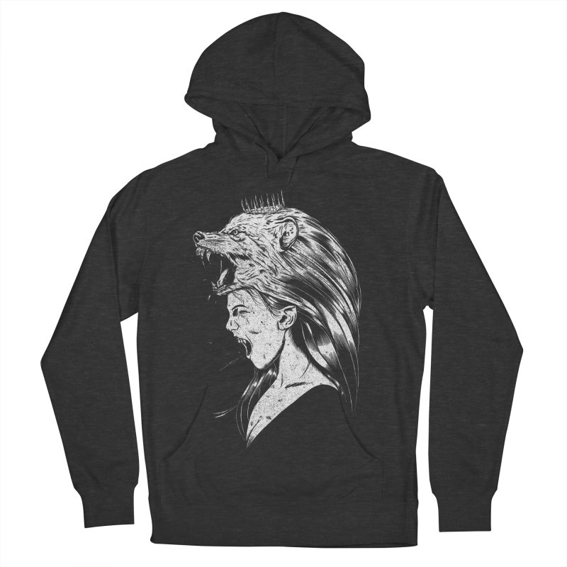 Queen of Anger Men's Pullover Hoody by Jimmy Breen Artist Shop