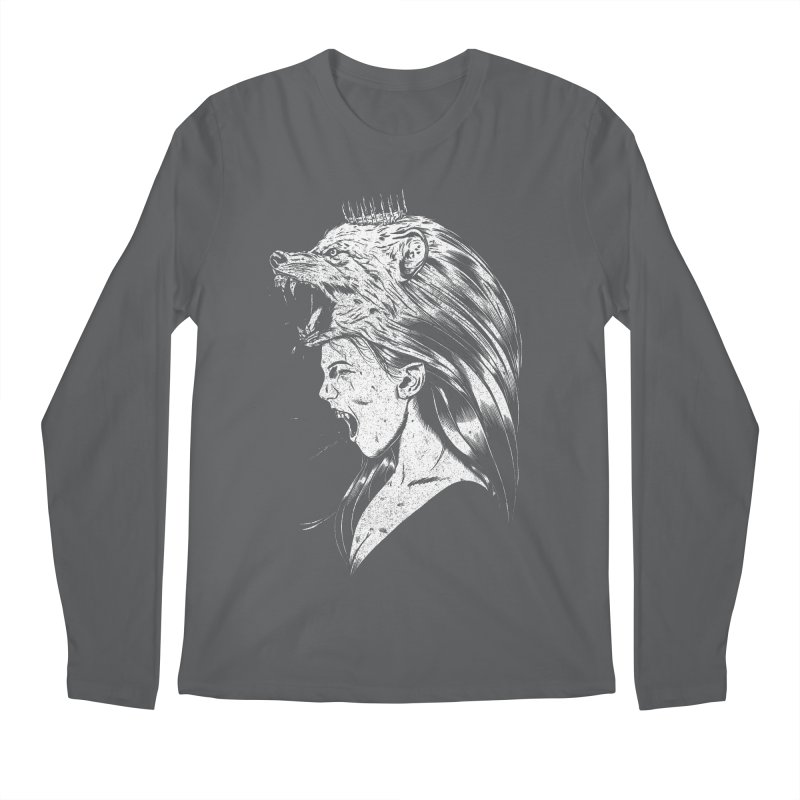 Queen of Anger Men's Regular Longsleeve T-Shirt by Jimmy Breen Artist Shop