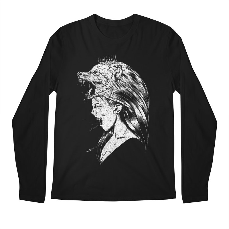 Queen of Anger Men's Regular Longsleeve T-Shirt by Jimmy Breen Artist Shop