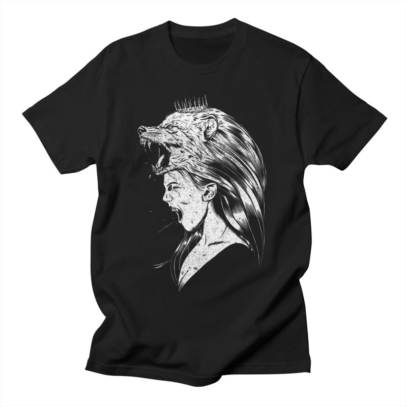 Queen of Anger Women's Regular Unisex T-Shirt by Jimmy Breen Artist Shop