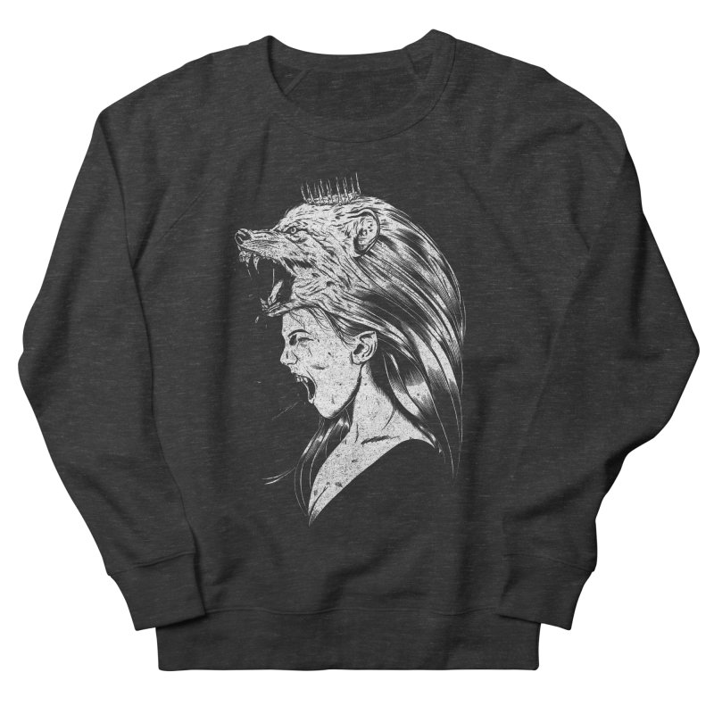 Queen of Anger Men's Sweatshirt by Jimmy Breen Artist Shop