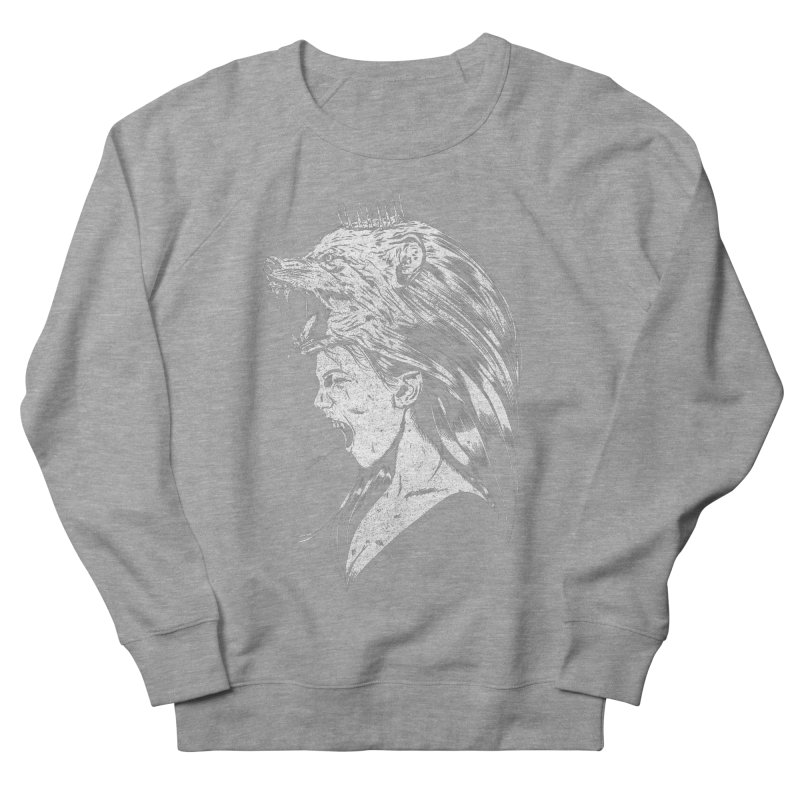 Queen of Anger Men's French Terry Sweatshirt by Jimmy Breen Artist Shop