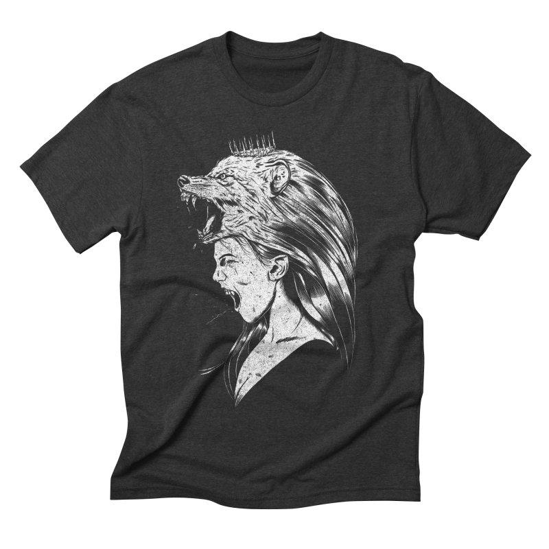 Queen of Anger Men's Triblend T-Shirt by Jimmy Breen Artist Shop