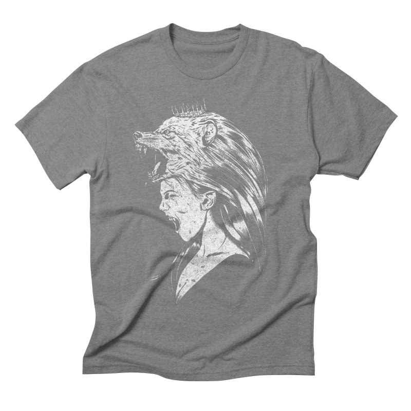 Queen of Anger Men's Triblend T-Shirt by Jimmy Breen Artist Shop