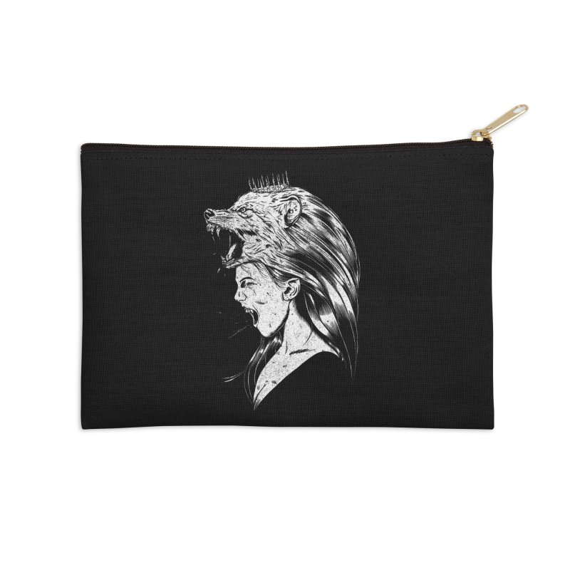 Queen of Anger Accessories Zip Pouch by Jimmy Breen Artist Shop