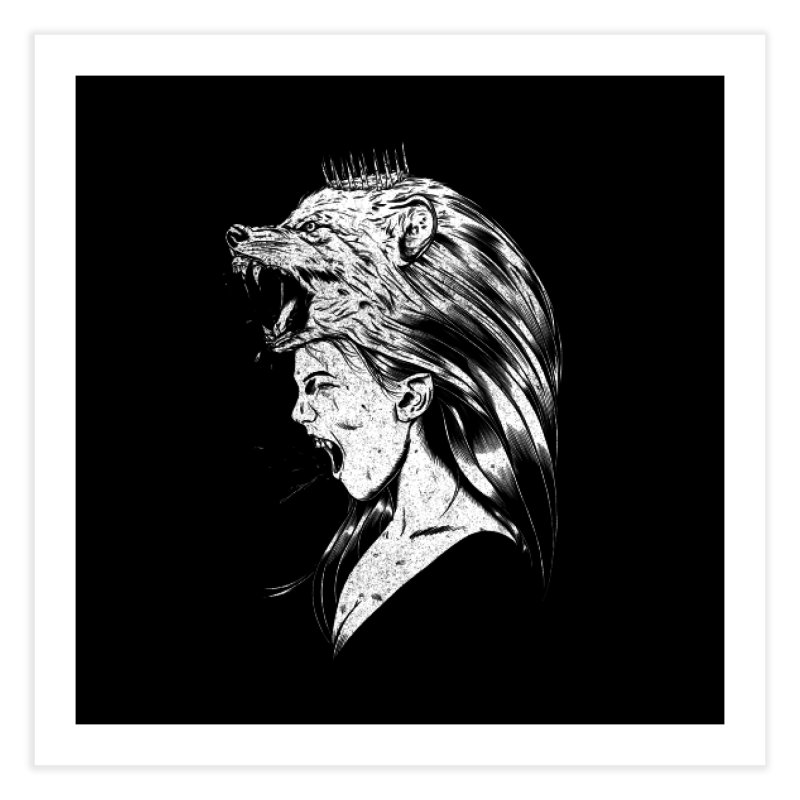 Queen of Anger Home Fine Art Print by Jimmy Breen Artist Shop