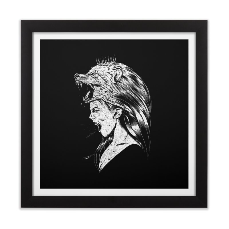 Queen of Anger Home Framed Fine Art Print by Jimmy Breen Artist Shop