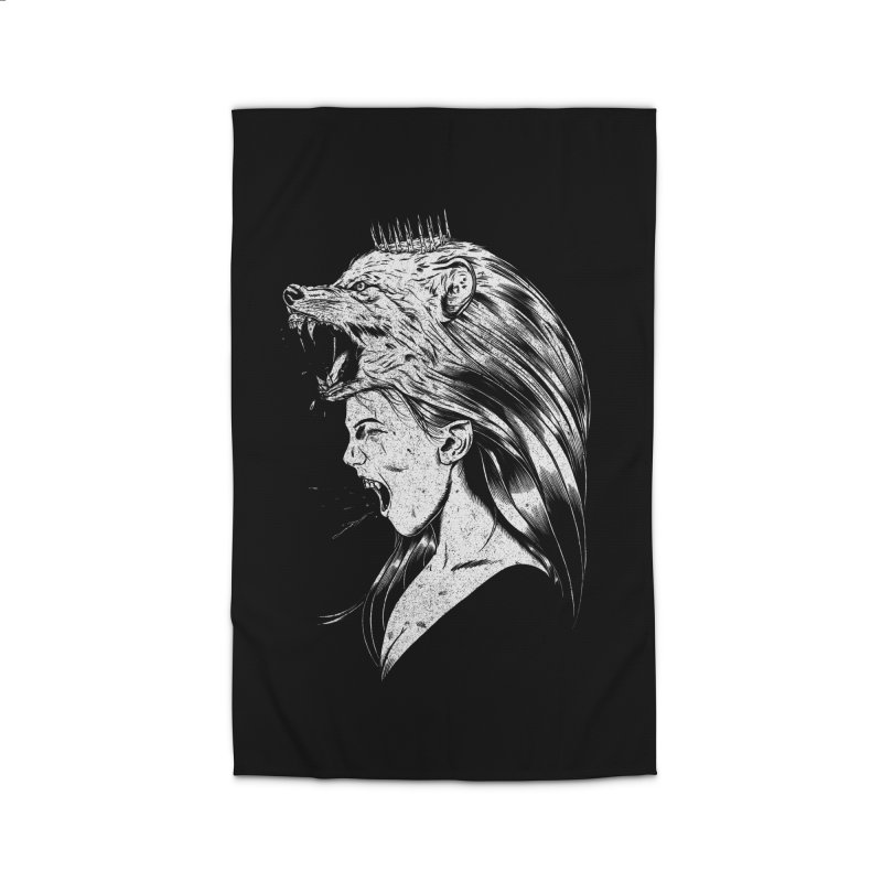 Queen of Anger Home Rug by Jimmy Breen Artist Shop
