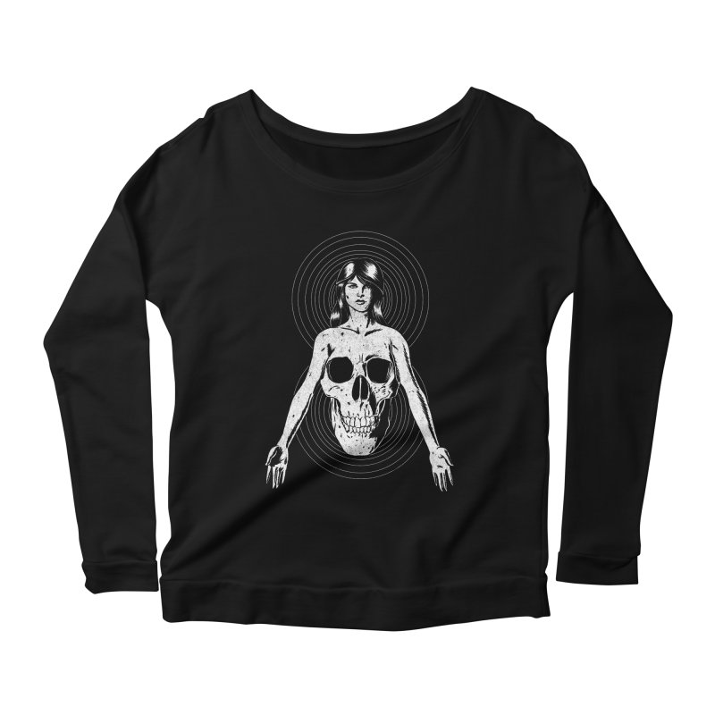 Part of Us Women's Longsleeve Scoopneck  by Jimmy Breen Artist Shop