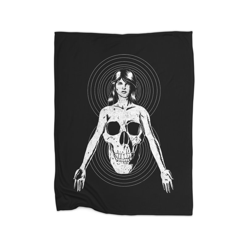 Part of Us Home Fleece Blanket Blanket by Jimmy Breen Artist Shop