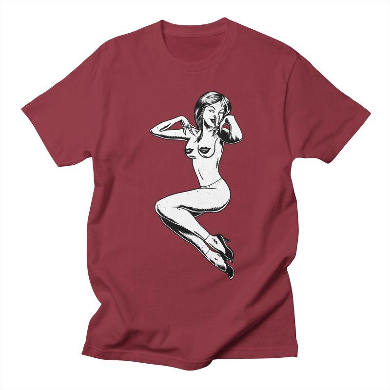 Handling Business Men's Regular T-Shirt by Jimmy Breen Artist Shop