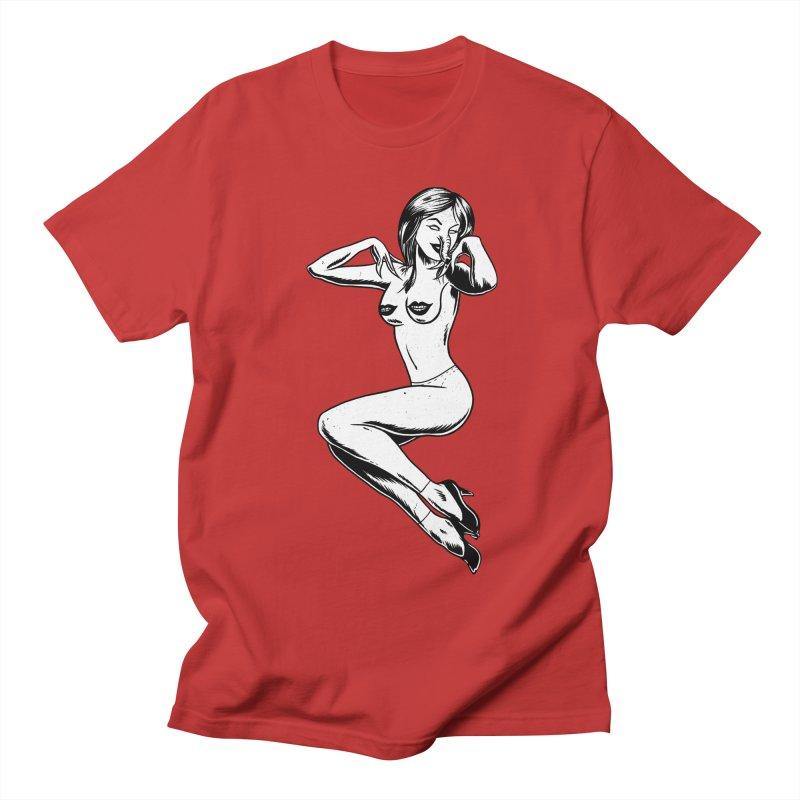 Handling Business Women's Regular Unisex T-Shirt by Jimmy Breen Artist Shop