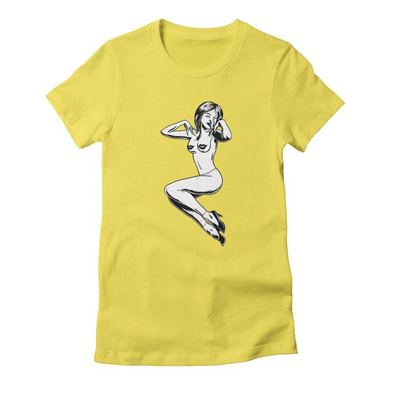 Handling Business Women's T-Shirt by Jimmy Breen Artist Shop