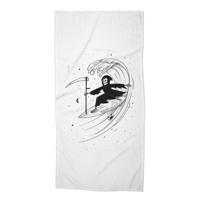 Surf's Up Accessories Beach Towel by Jimmy Breen Artist Shop