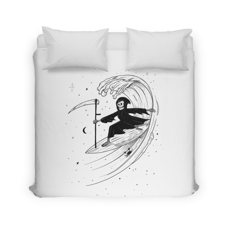 Surf's Up Home Duvet by Jimmy Breen Artist Shop