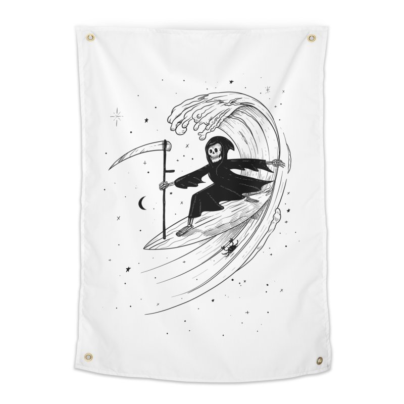 Surf's Up Home Tapestry by Jimmy Breen Artist Shop