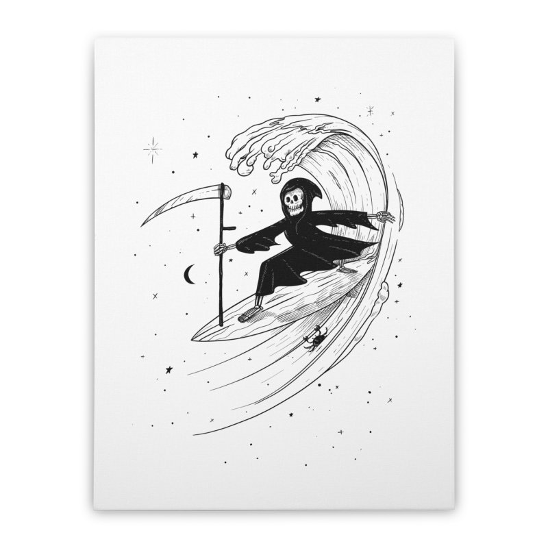 Surf's Up Home Stretched Canvas by Jimmy Breen Artist Shop