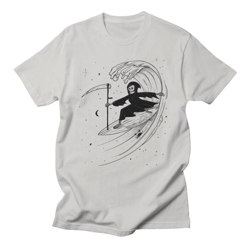 Surf's Up Women's Regular Unisex T-Shirt by Jimmy Breen Artist Shop