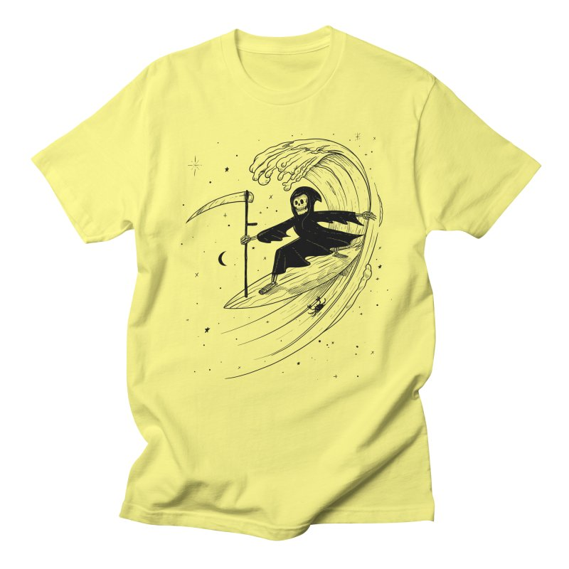 Surf's Up Women's Regular Unisex T-Shirt by Jimmy Breen Artist Shop