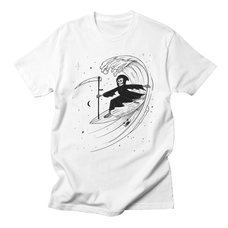 Surf's Up Men's Regular T-Shirt by Jimmy Breen Artist Shop