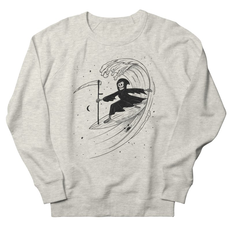 Surf's Up Women's Sweatshirt by Jimmy Breen Artist Shop