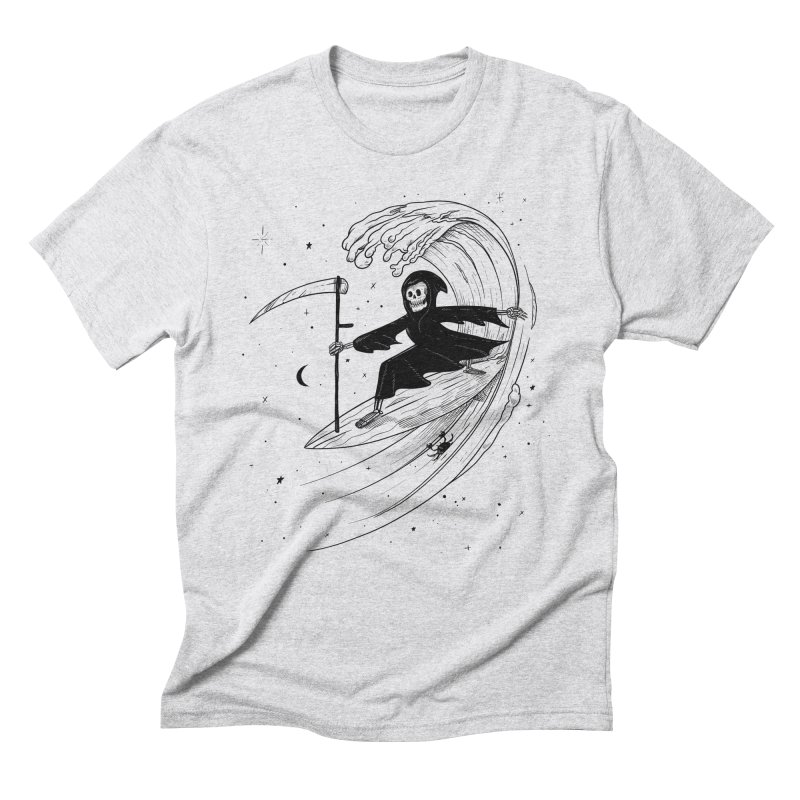 Surf's Up Men's Triblend T-Shirt by Jimmy Breen Artist Shop