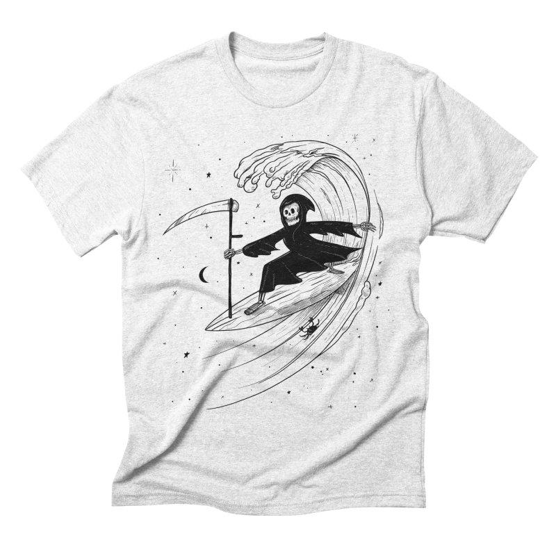 Surf's Up Men's Triblend T-shirt by Jimmy Breen Artist Shop