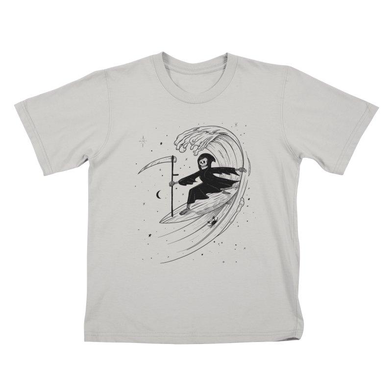Surf's Up Kids T-Shirt by Jimmy Breen Artist Shop