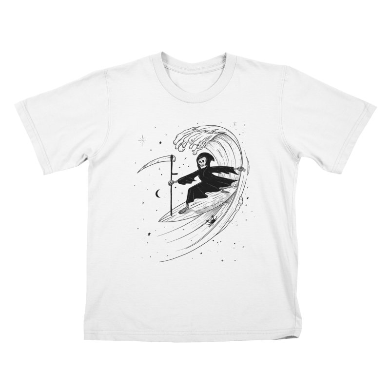 Surf's Up Kids T-Shirt by Jimmy Breen Artist Shop