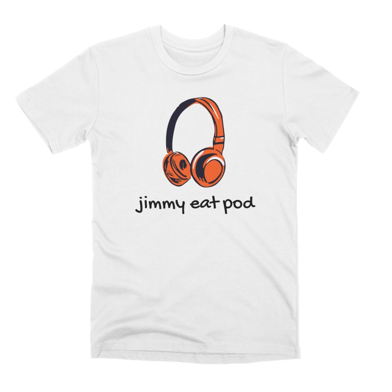Headphone 2021 Men's T-Shirt by Jimmy Eat Pod's Shop