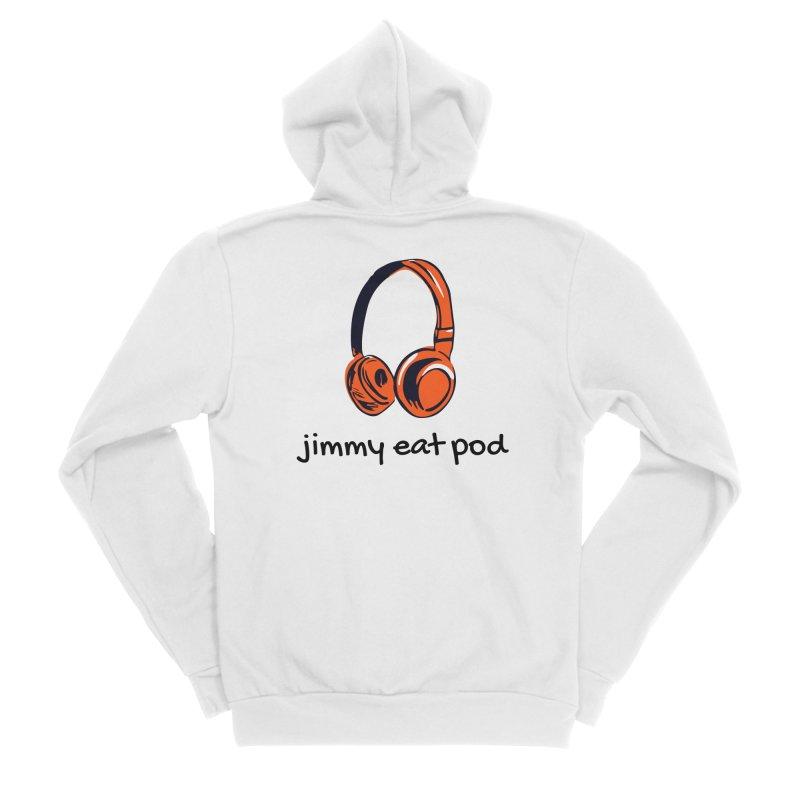 Headphone 2021 Men's Zip-Up Hoody by Jimmy Eat Pod's Shop