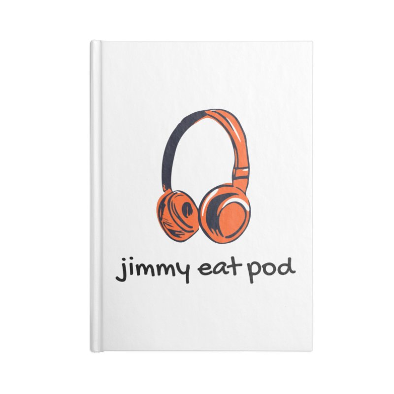 Headphone 2021 Accessories Notebook by Jimmy Eat Pod's Shop