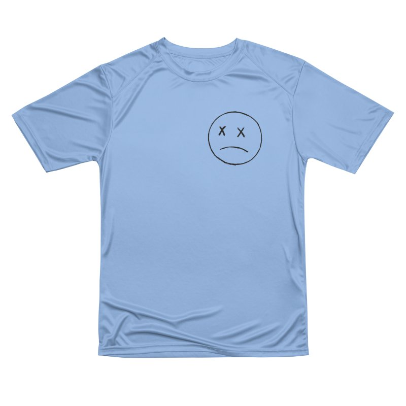 SADBOY OUTLINE BLACK FRONT LOGO TEE Women's T-Shirt by JimmyITK