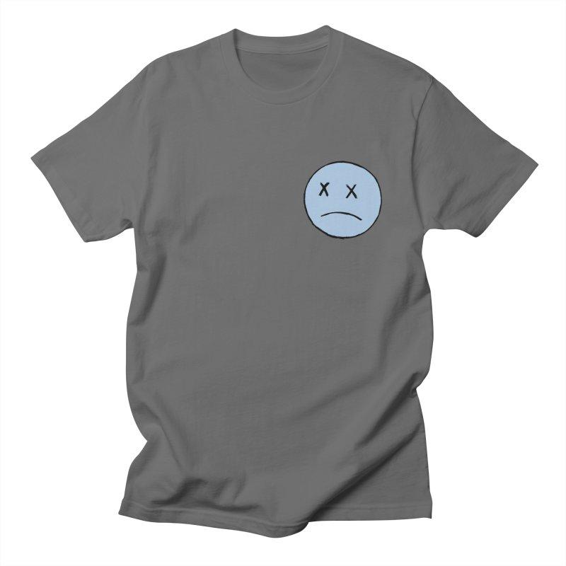 SADBOY LOGO TEE V2 - GREY Men's T-Shirt by JimmyITK