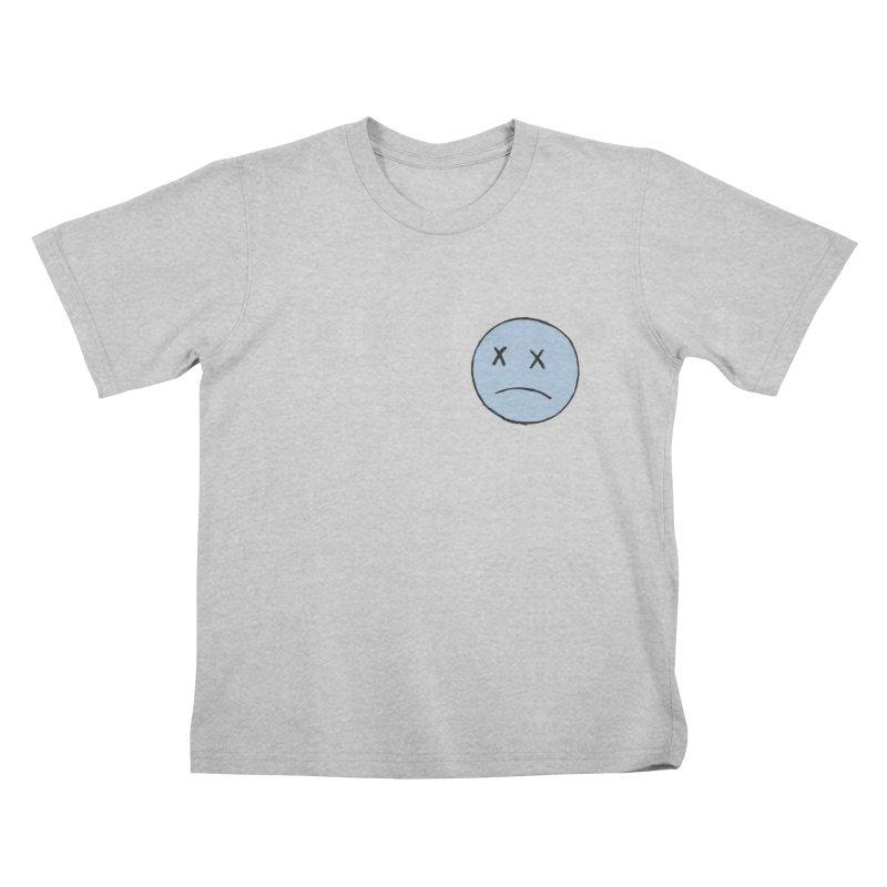 SADBOY LOGO TEE V2 - GREY Kids T-Shirt by JimmyITK