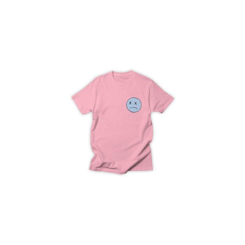 SADBOY LOGO TEE V2 - PINK Men's T-Shirt by JimmyITK