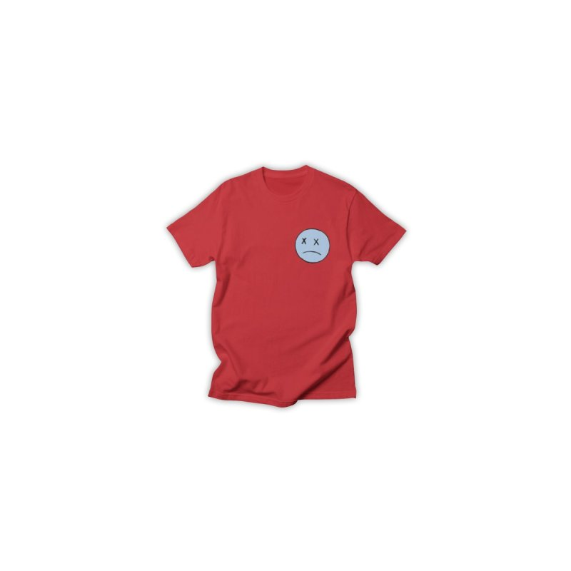 SADBOY LOGO TEE V2 - RED Men's T-Shirt by JimmyITK
