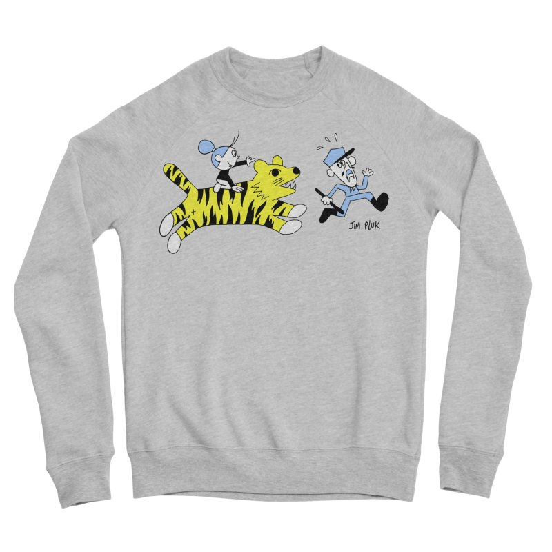 da police Men's Sponge Fleece Sweatshirt by jimpluk's Artist Shop