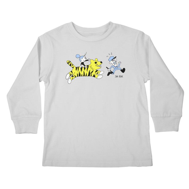 da police Kids Longsleeve T-Shirt by jimpluk's Artist Shop