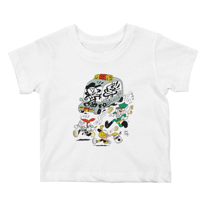 t a g  ! Kids Baby T-Shirt by jimpluk's Artist Shop