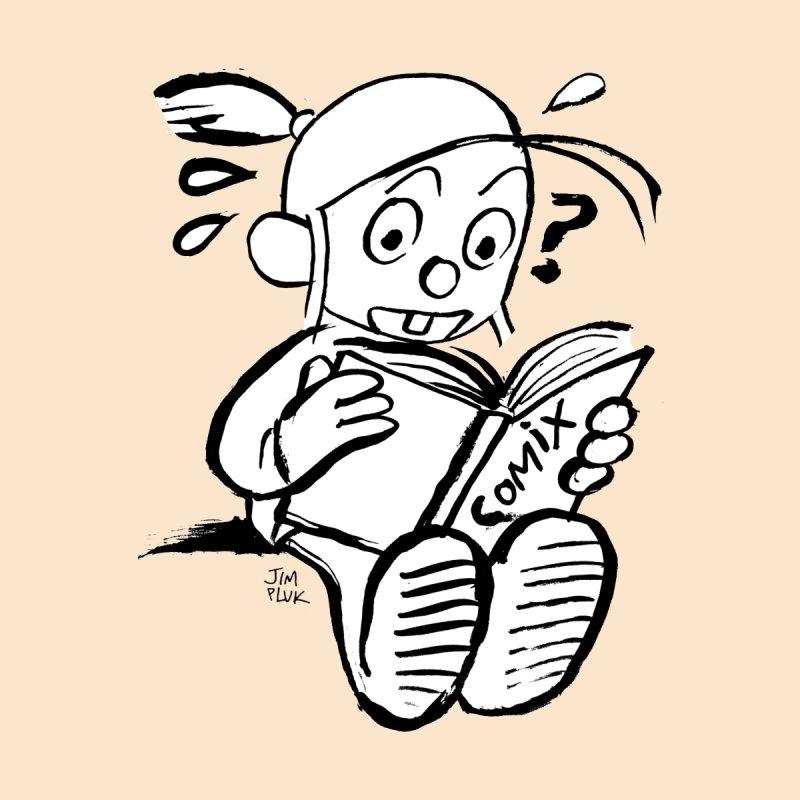reading comix by jimpluk's Artist Shop