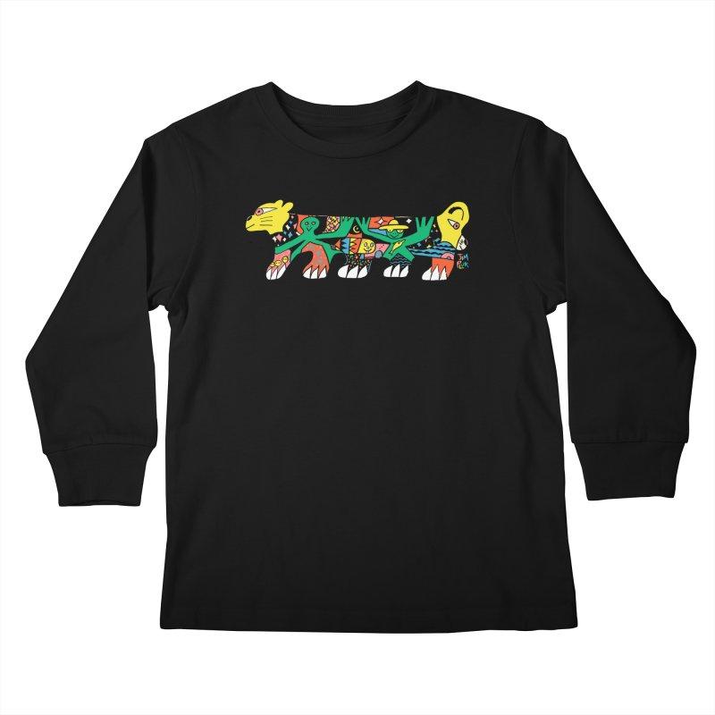 lyon Kids Longsleeve T-Shirt by jimpluk's Artist Shop