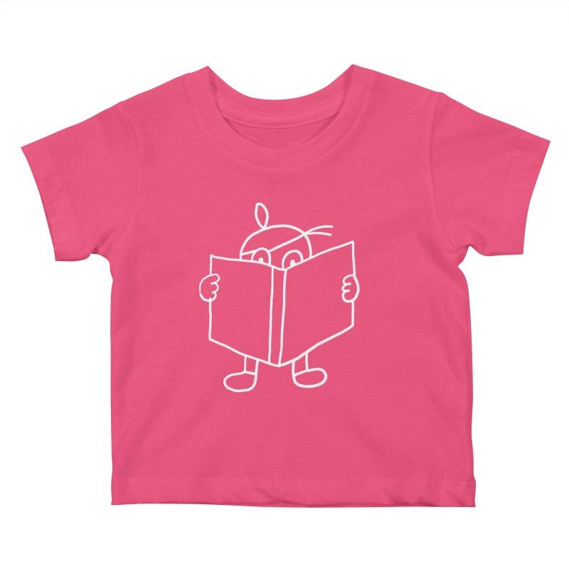 reading is fun da mental Kids Baby T-Shirt by jimpluk's Artist Shop